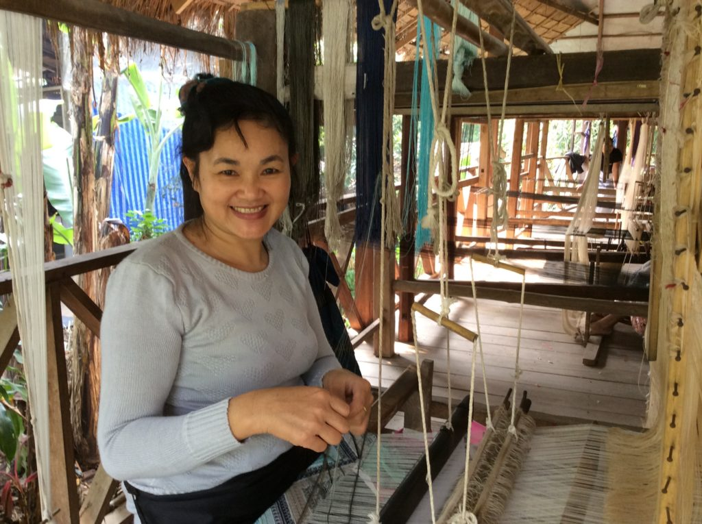 Laotian weaver