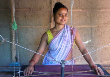 Weaving in India
