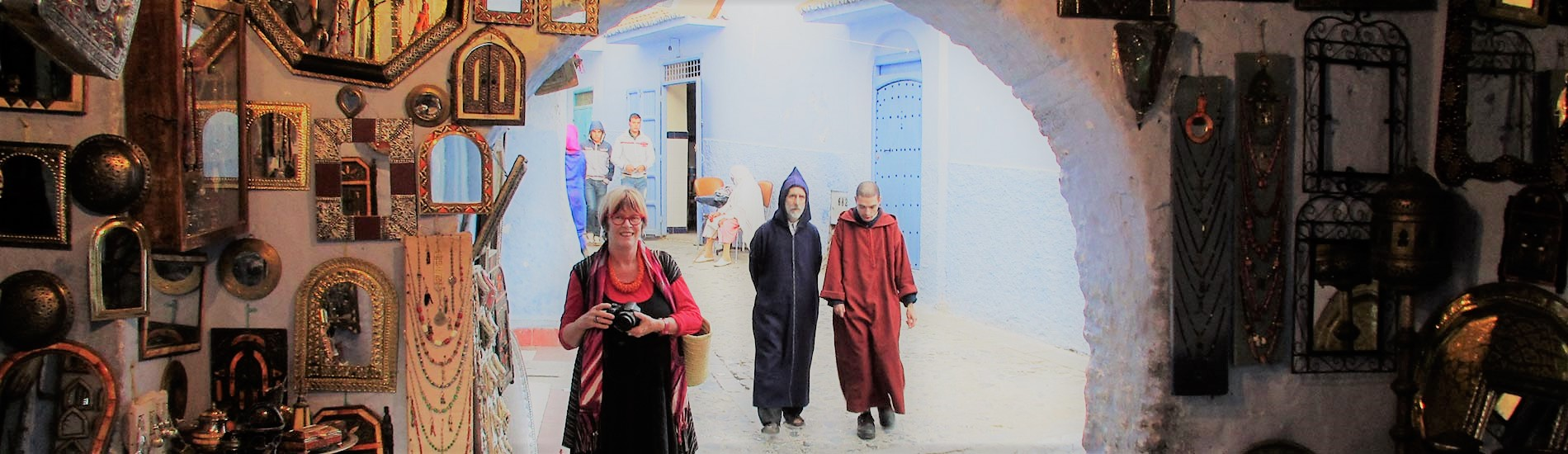 Morocco with Sue Buckle